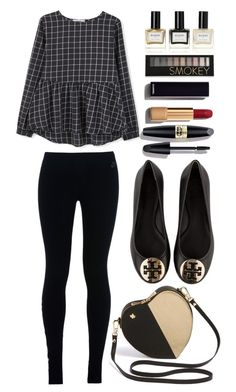 """""""Untitled #1069 ~ Top Fashion set 01/10/2016"""" by mrs-rc ❤ liked on Polyvore featuring Tory Burch, NIKE, MANGO, Max Factor, Chanel, Forever 21, Balmain, women's clothing, women and female"""