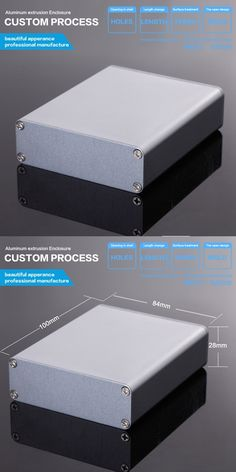 84*28*110mm (wxhxl) diy enclosure electronics switch box