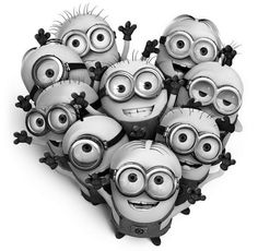 When ever you are down remember the minions love you ❤️