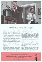 Metropolitan Life Insurance Co. 1957 Ad Picture