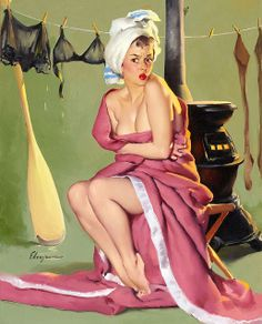 I love pin up style.