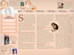 Shirley Temple Bio page #shirleytemple