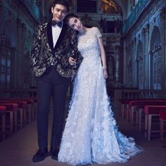 2016 Angelababy Vestido De Noiva Romantic Wedding Dresses White Lace Appliques O-Neck A-Line Lace Up Wedding Gowns Bridal Dress