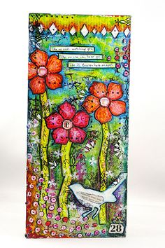 """""""Mixed Media Mash Up"""" with Jill 