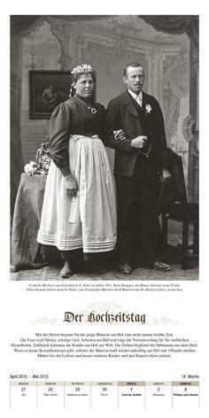 Menschen und ihre Geschichten · Der Hochzeitstag