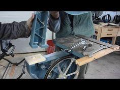 Wooden bandsaw riser block