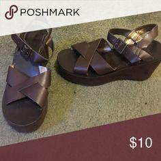 CLEARANCE - 8/$15! Sandals Brown sandals Shoes Sandals