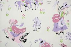 Items similar to Vintage Wallpaper by the Yard - Children's Vintage Wallpaper Humpty Dumpty Nursery Rhyme on Etsy Vintage Children's Books, Vintage Paper, Etsy Vintage, Humpty Dumpty Nursery Rhyme, Nursery Rhymes, Nursery Wallpaper, Retro Wallpaper, Ballerina Wallpaper, Vintage Wedding Colors