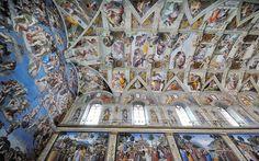 3: Sistine Chapel, Rome  Picture: ALAMY