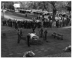 Funeral procession for President John F. Kennedy. 1963