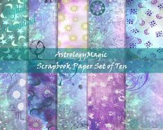 Download and Print Today! Digital Scrapbook Paper, Your Image, Ephemera, Astrology, Fox, Printables, Messages, Crafts, Manualidades