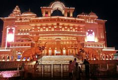Kingdom of Dreams auditorium, Nautanki Mahal , Gurgaon (Haryana)  It is India's first live entertainment, theatre and leisure destination.
