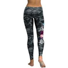 3D Camouflage Leggings