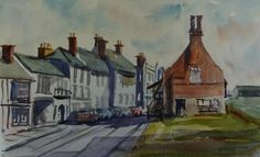 Aldeburgh Moot Hall, Watercolours, Barry Hulme, SAA Professional Members' Galleries