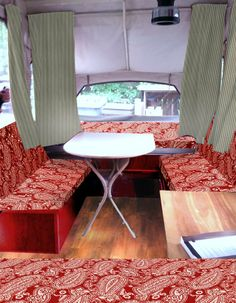 PUP IDEAS: Photo shopped paisley option for pop-up camper makeover