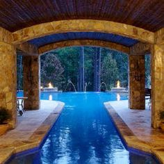 indoor - outdoor pool!!!