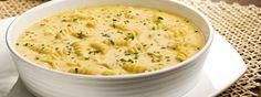 Sopa cremosa de milho verde e frango.   13 receitas de sopas maravilhosas para fugir da dieta