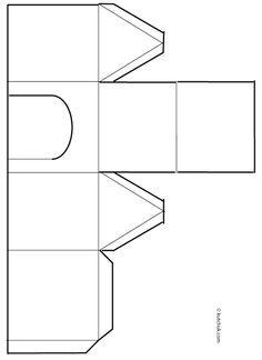 Bricolage papier de noël, Fabriquer des petits villages calendrier ...