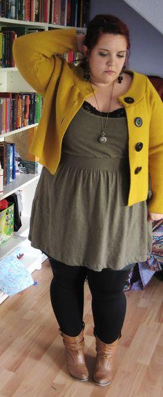 Country Side Jacke: NewLook (aber 2nd Hand) Kleid: NoName Top: HM Schuhe: BonPrix Kette: Berlin