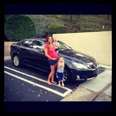 Congrats Terry, for earning her Lexus bonus from Nerium!