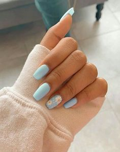 In look for some nail designs and some ideas for your nails? Listed here is our set of must-try coffin acrylic nails for trendy women. Acrylic Nails Coffin Short, Blue Acrylic Nails, Simple Acrylic Nails, Coffin Nails, Yellow Nails, Nail Pink, Metallic Nails, Marble Nails, Gold Nails