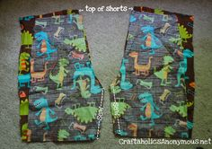 How to sew shorts without a pattern   Craftaholics Anonymous
