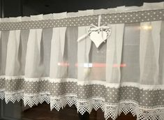 Offer No. 7203104390 - Sale Oferta nr 7203104390 – Sprzedaż zakończona Buy now on allegro.pl for PLN – Curtains Curtain Cotton Lace Dot HIT Allegro.pl – Shopping joy and security thanks to the Buyer Protection Program! Curtain Patterns, Curtain Designs, Kitchen Curtains, Drapes Curtains, Window Coverings, Window Treatments, Bedside Table Design, French Kitchen Decor, Custom Drapes