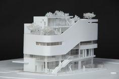 architek :: 상계2동 공공복합청사 현상 모형