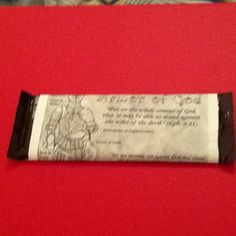 Wrapped candy bar