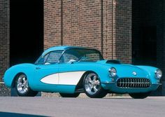 532-horsepower 1956 Chevy Corvette