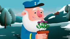 GLASGOW 2014 COMMONWEALTH GAMES MASCOT ANIMATED FILM. 'Captain Bristle's Thistles' created by nerv