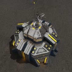 3D Model Command Center V 2 - 3D Model