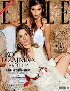 Natasa Vojnovic and Georgina Stojiljkovic for Elle Serbia May 2013