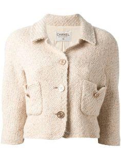 Chanel Vintage   cropped jacket #chanelvintage #jacket