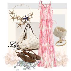 Pink, created by lolygro on Polyvore