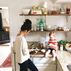 """Sunday dinner prepping with my little sous chef. Who is a little less sous and a little more into every single thing, insisting on being up on the…"" Source by JPMaven Cute Family, Baby Family, Family Goals, Mother And Child, Mommy And Me, Mom And Som, Family Pictures, Baby Fever, Future Baby"