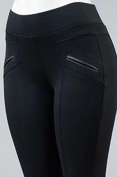 Details about Women Pants Leggings Leather pockets Pull up comfort Ci sono Plus Sizes, Plus Size Legging Outfits, Plus Size Leggings, Leggings Are Not Pants, Women's Leggings, Jeggings, Cheap Leggings, Leather Leggings, Fashion Pants, Fashion Outfits