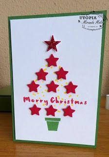 Stampin Utopia, Hier Stampin' Up! bestellen, stars, christmas card