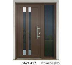 GAVA 492 RAL 8014 vchodové dvere