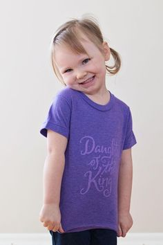 Daughter Of The King Toddler Tee