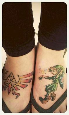 Zelda tattoo  #Nintendo #TheLegendofZelda #Gaming