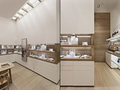 New Jewerly Shop Design Retail Stores Visual Merchandising 68 Ideas Jewelry Store Displays, Jewellery Shop Design, Jewelry Shop, Jewelry Making, Boutique Interior, Boutique Design, Design Shop, Design Blogs, Visual Merchandising