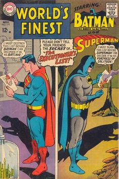 Cover for World's Finest Comics (DC, 1941 series) #171