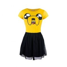 Jake Happy Face Fit & Flare Tulle Dress