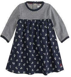 Baby Petit Bateau® anchor dress