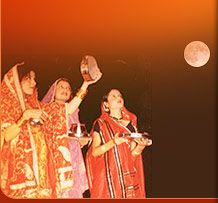 KarwaChauth Fast an Indian festival for long life of husband