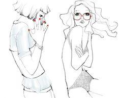 Garance Doré, fashion illustrator