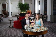 Taking Tea - EAUX Luxury Lifestyle. The Colonnades, Signet Library