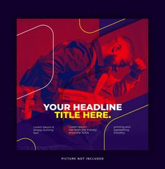 Dynamic trendy duotone effect with round. Social Media Ad, Social Media Branding, Social Media Banner, Social Media Template, Social Media Design, Social Media Graphics, Church Graphic Design, Graphic Design Posters, Graphic Design Inspiration