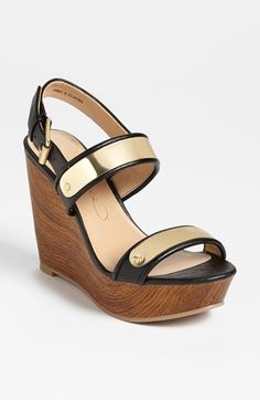 REPORT Signature 'Elayna' Wedge Sandal available at #Nordstrom the holy grail of wedges